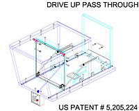 Drive up pass through 3d